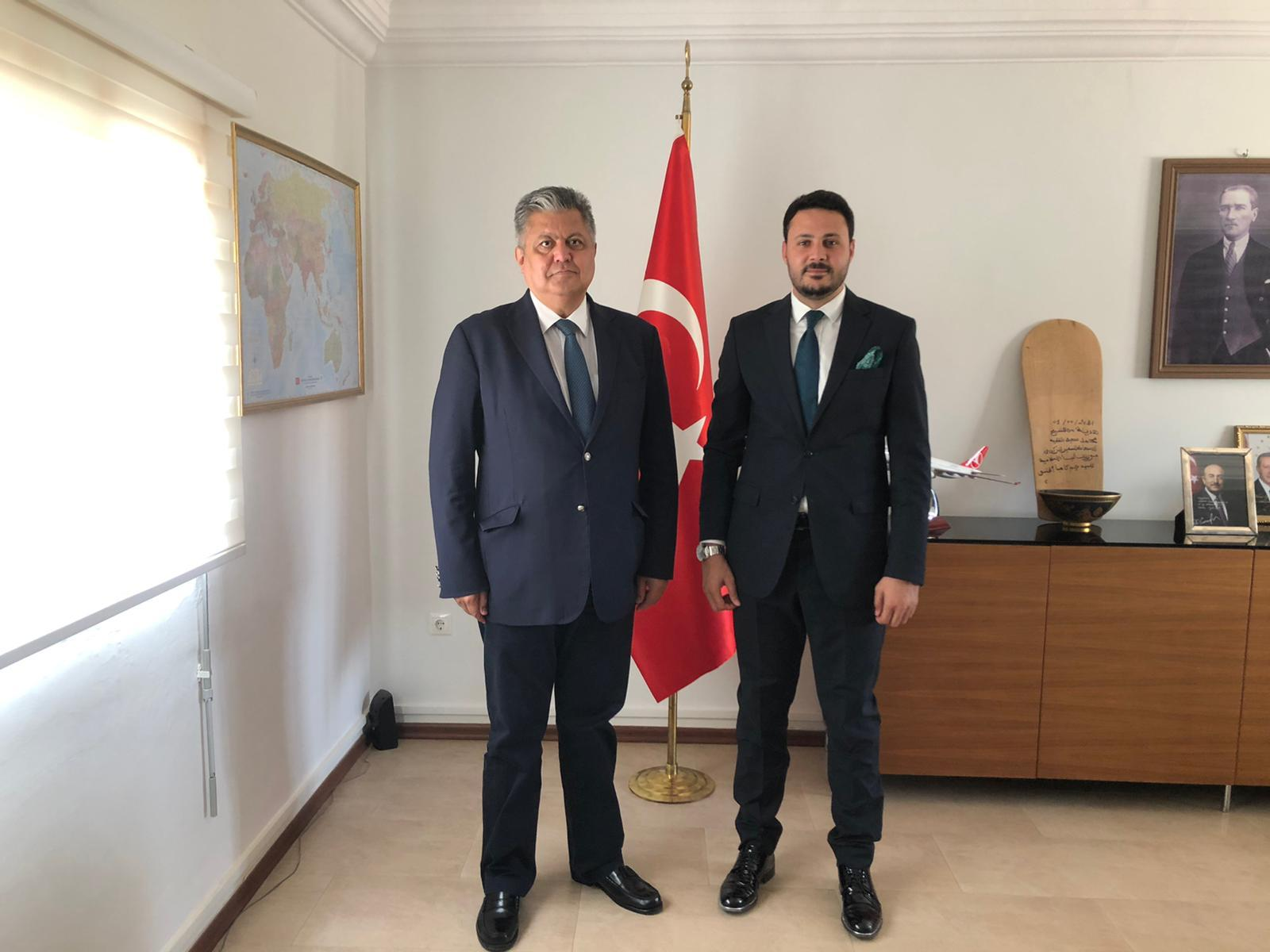 زيارة سفارة الجمهورية التركية...